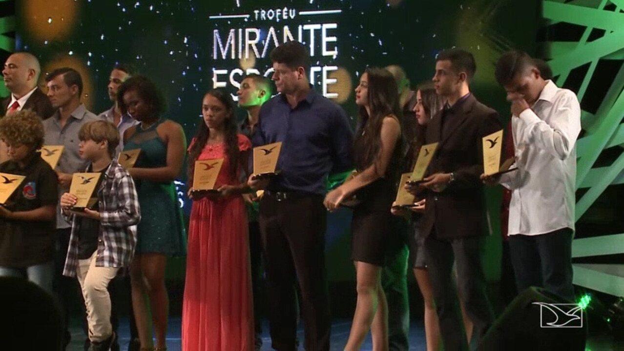 Troféu Mirante Esporte premia destaques do esporte do Maranhão de 2017