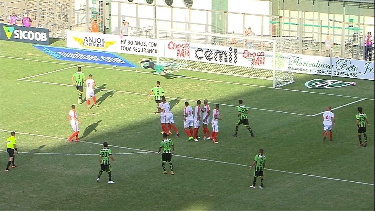 9d8350061c Melhores momentos de América-MG 1 x 0 Boa Esporte pelo Campeonato Mineiro