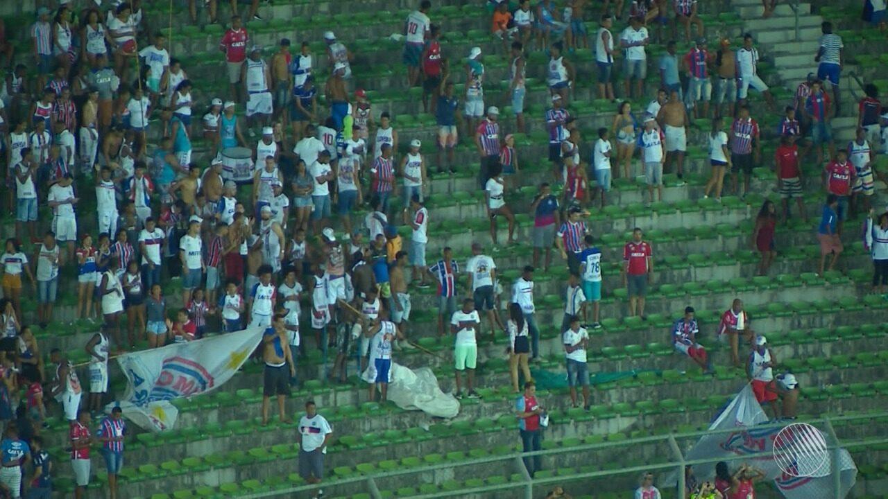 Guto Ferreira é vaiado após o Bahia ficar no 0 a 0 contra o Fluminense de Feira