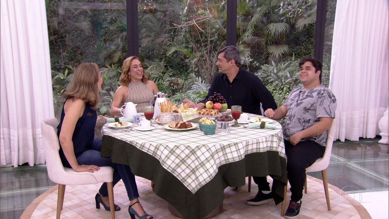 Família Lima no Mais Você: Eva e Jorge contam da desconfiança dos outros brothers