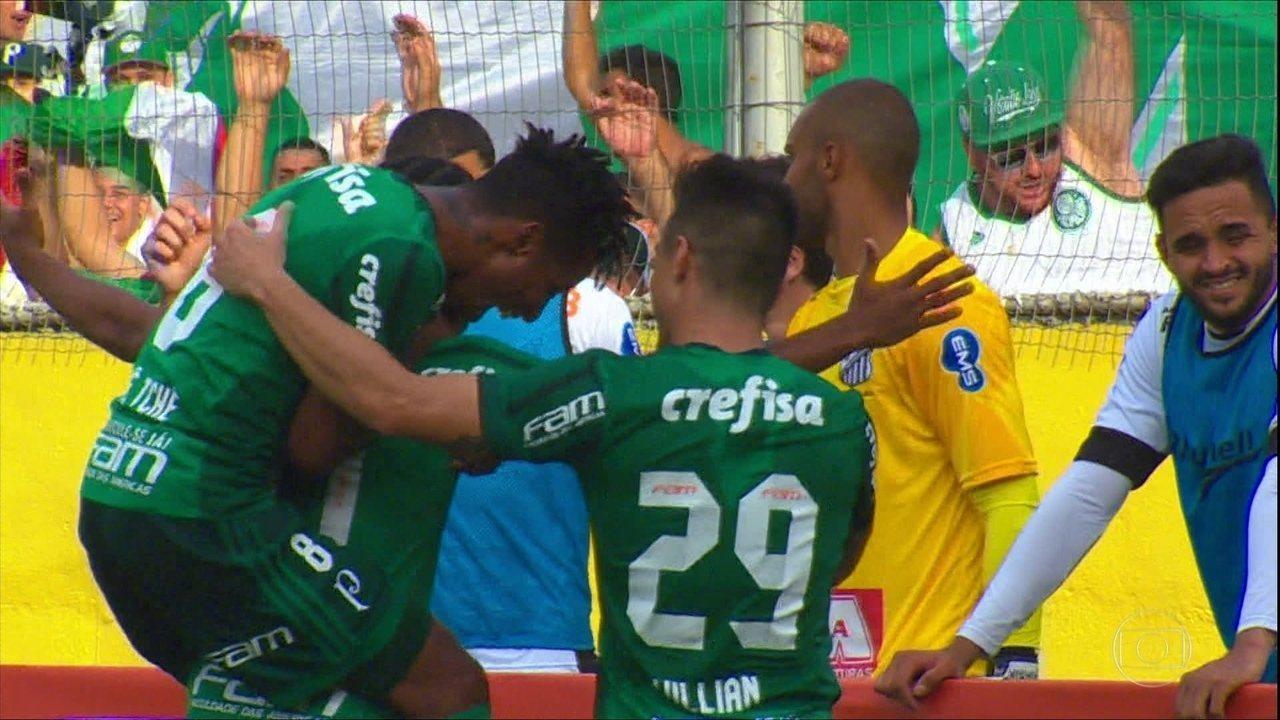 Palmeiras segue invicto no Paulistão