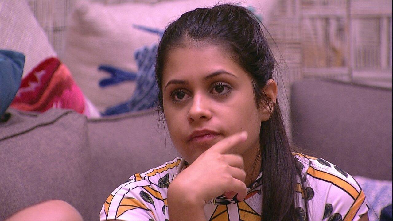 Ana Paula especula opinião do público sobre ela