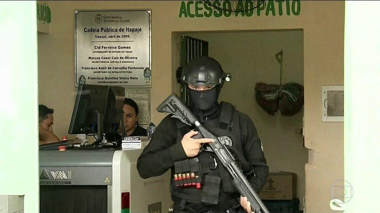 No Ceará, dois dias após chacina, dez presos morrem em guerra de facções