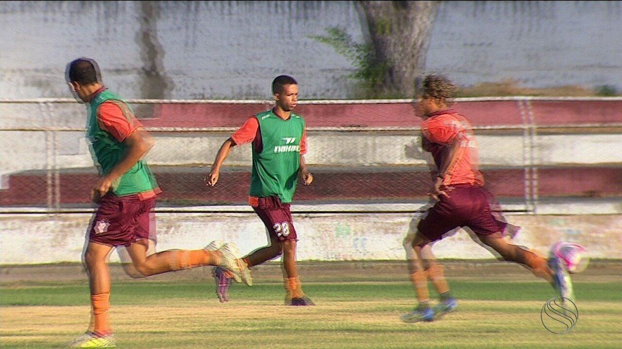 Diogo e Rhuan vão reencontrar o Amadense neste domingo, agora jogando pelo Sergipe