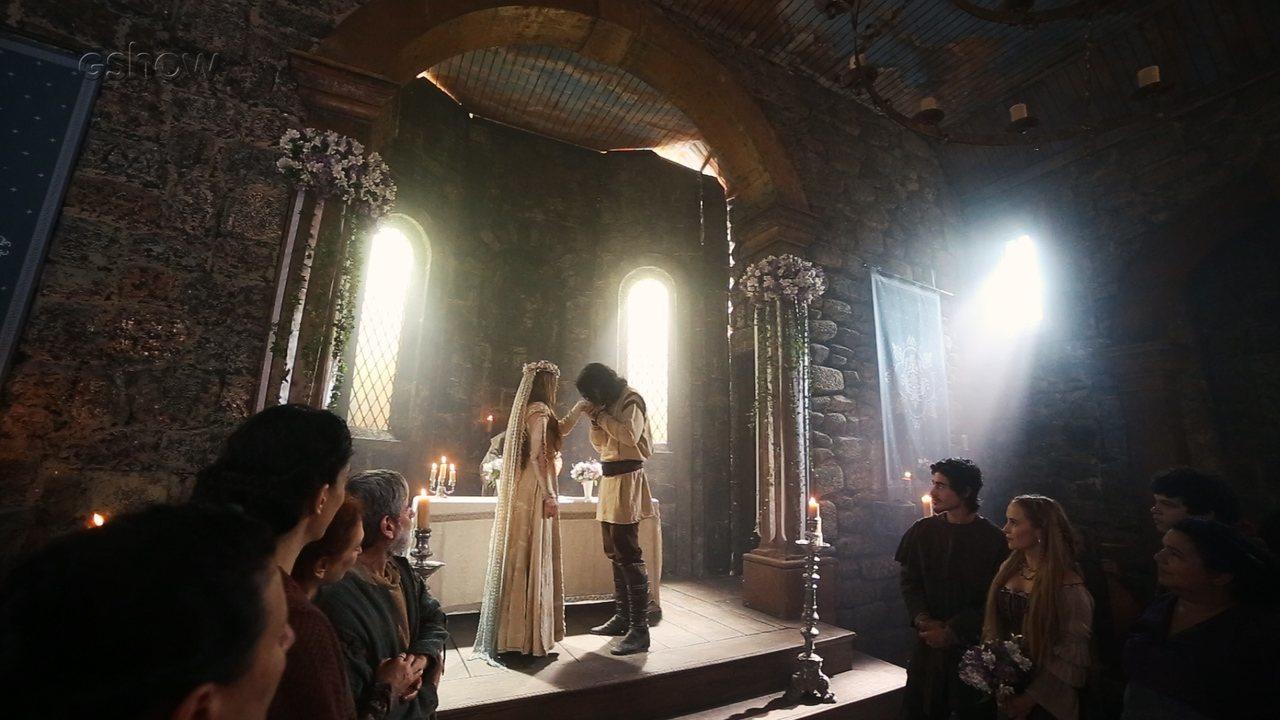 Reveja o teaser com momentos do casamento de Afonso e Amália #Afonsália