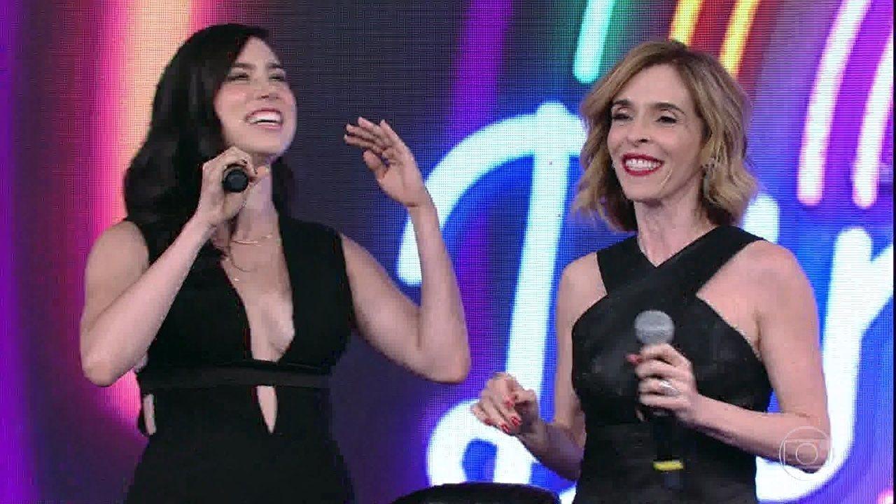 Deborah Evelyn e Olivia Torres acertam e Rouge sobe ao palco