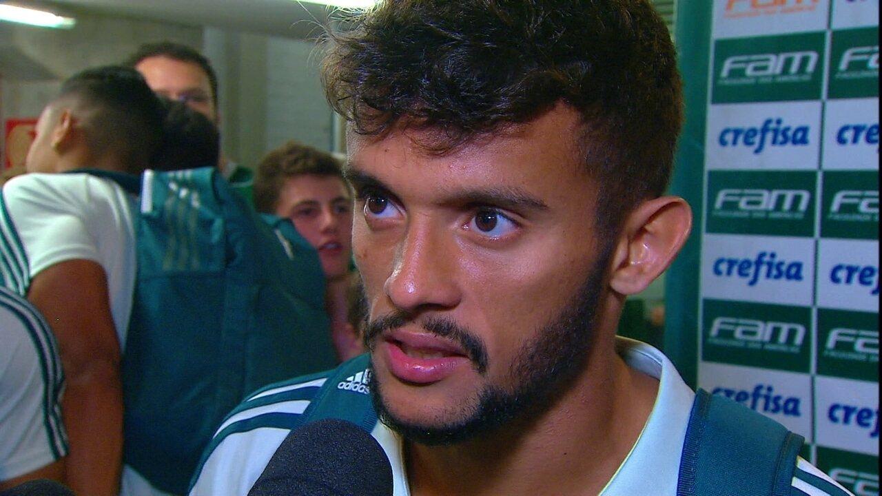 Gustavo Scarpa, meia do Palmeiras: