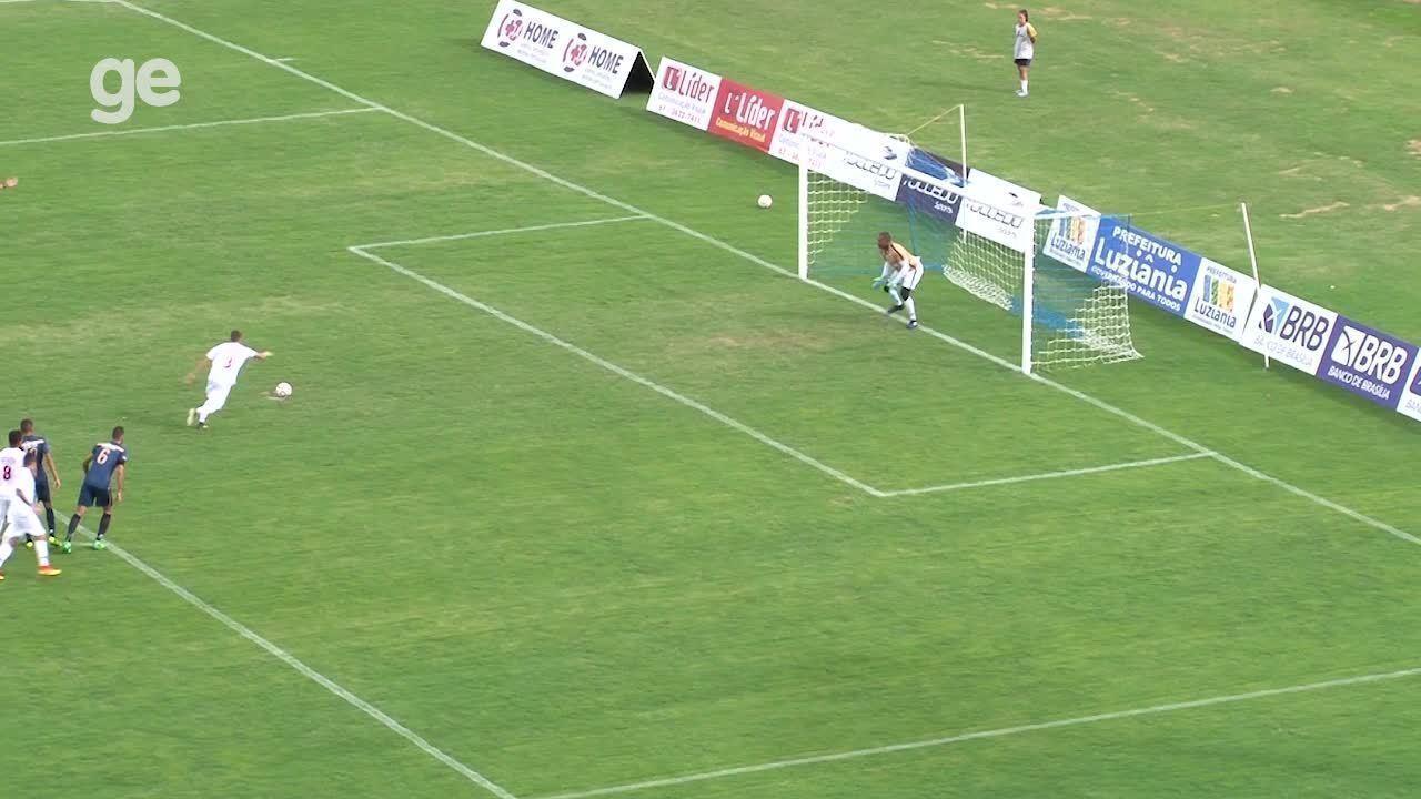Os gols de Real 1 x 2 Ceilândia pelo Campeonato Brasiliense 2018
