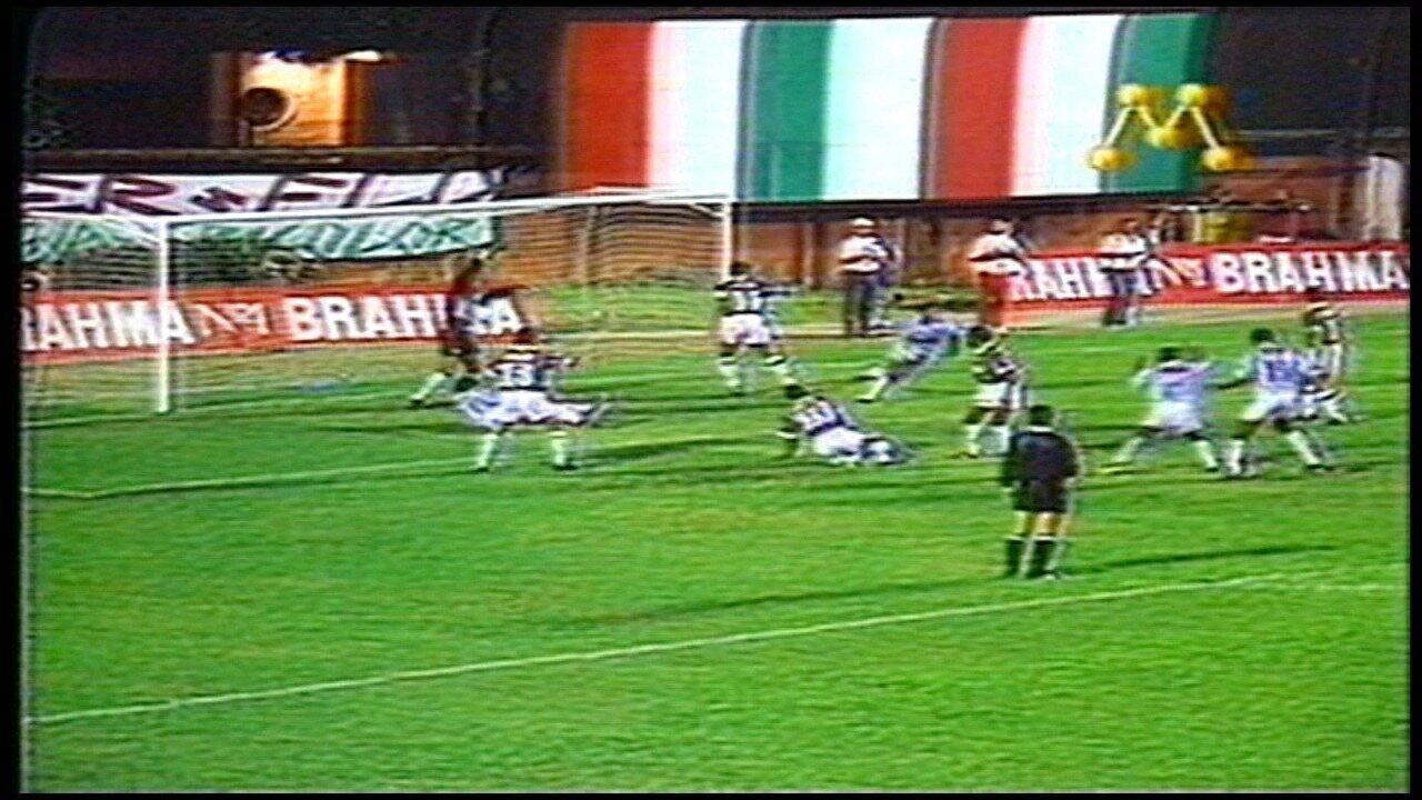 Os gols de Fluminense 2 x 2 Linhares EC, pela Copa do Brasil 1994