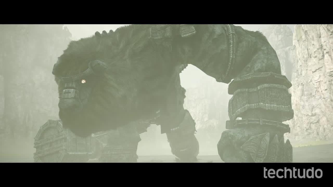 Shadow Of The Colossus - Gameplay comentado