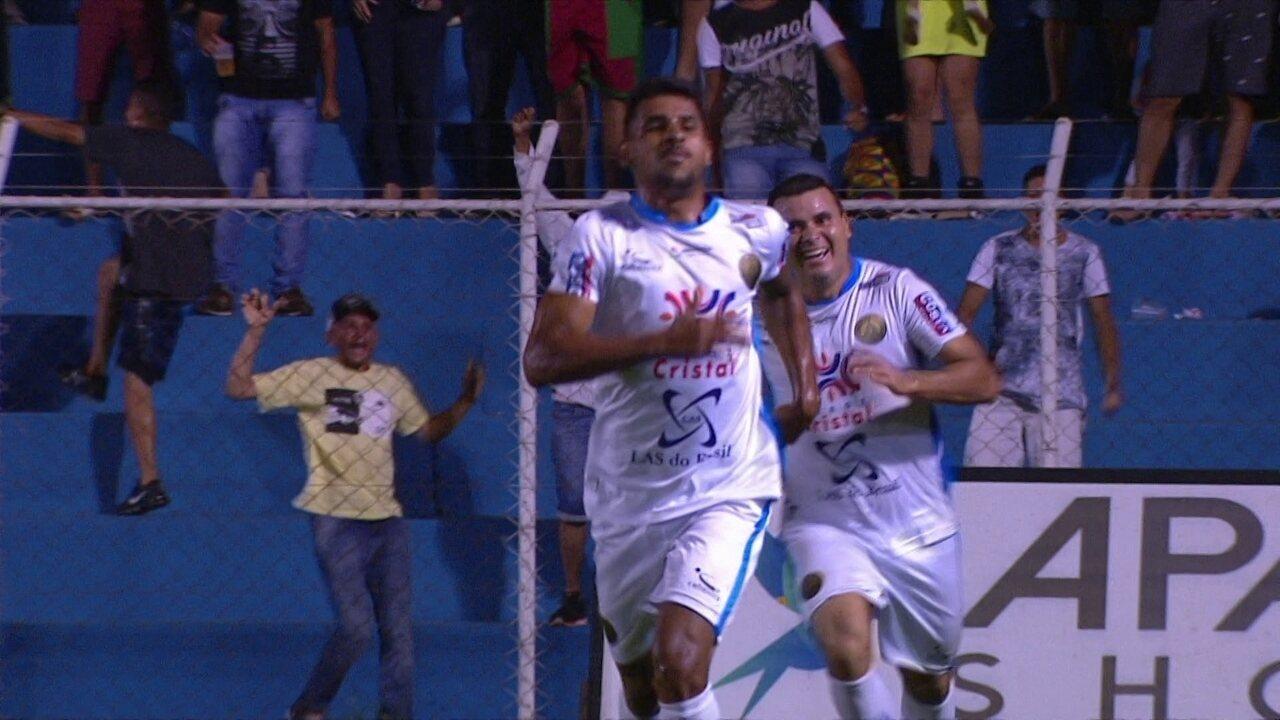Veja os gols do jogo entre Aparecidense e Botafogo 8cc2a638609e4