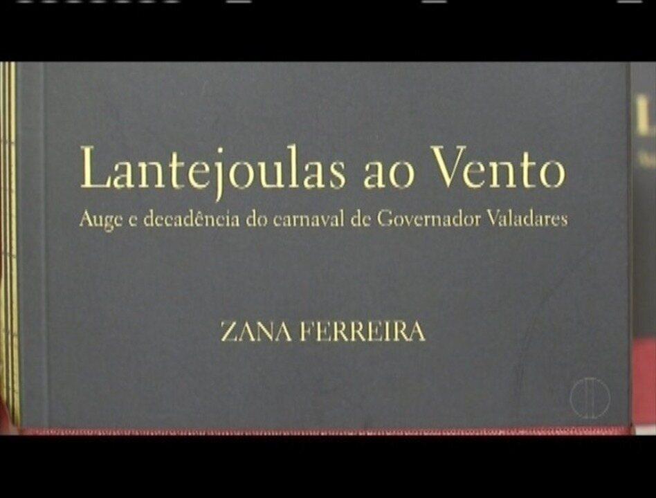 Livro que resgata a história do Carnaval valadarense na década de 50 é lançado em GV