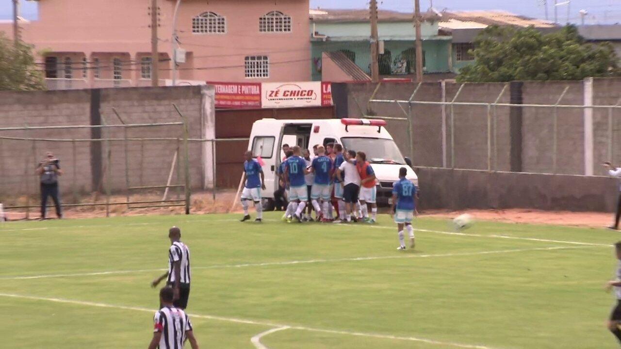 Os gols de Ceilândia 2 x 3 Avaí pela primeira fase da Copa do Brasil