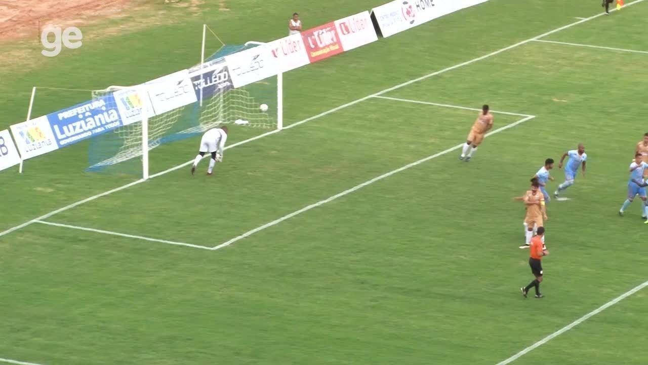 Os gols de Real 1 x 2 Bolamense pelo Campeonato Brasiliense 2018