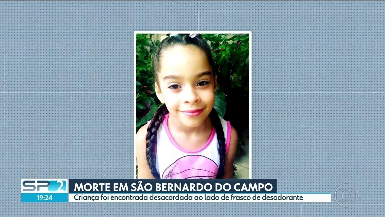 Resultado de imagem para 'Criança não entende o que está fazendo', diz mãe de menina que morreu após inalar desodorante