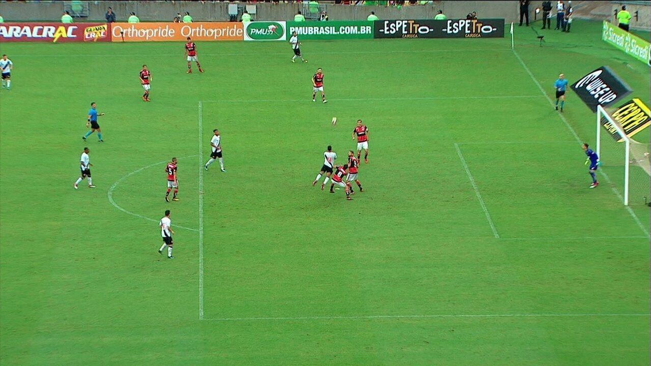 Jogadas de bola aérea contra o Flamengo em 2018