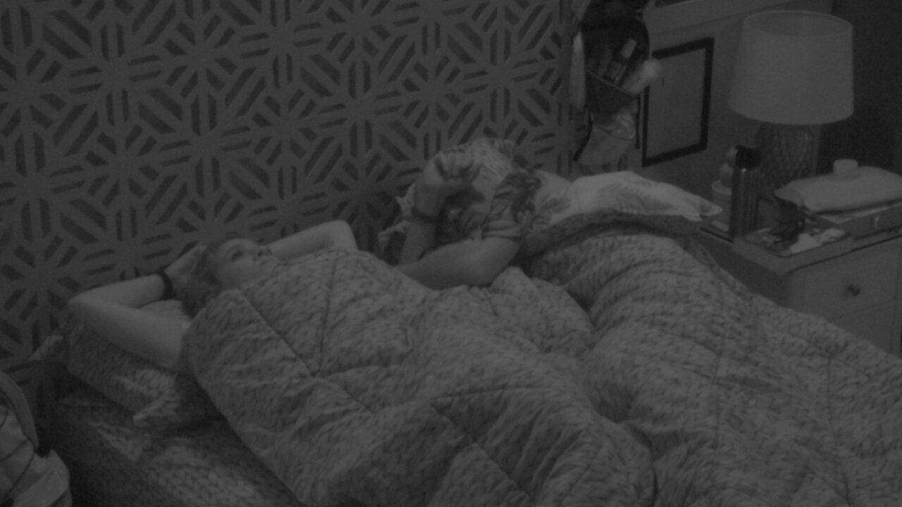 Ana Clara aconselha Ayrton na hora de dormir