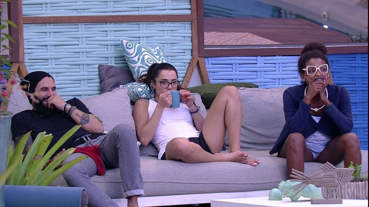 Gleici, Paula, Nayara e Wagner opinam sobre chances de brothers na Prova do Líder
