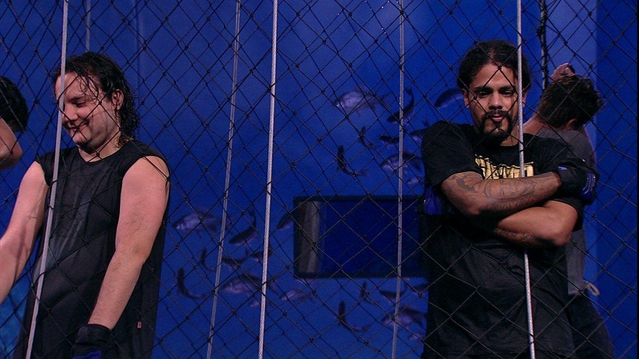 Diego brinca com brothers: ' Eu tô na liderança e levo vocês para o quarto'