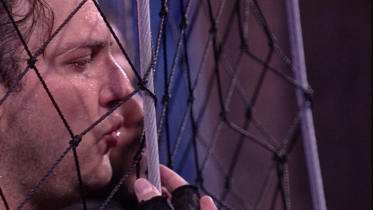 Diego canta e outros três brothers ficam em silêncio na disputa pela liderança