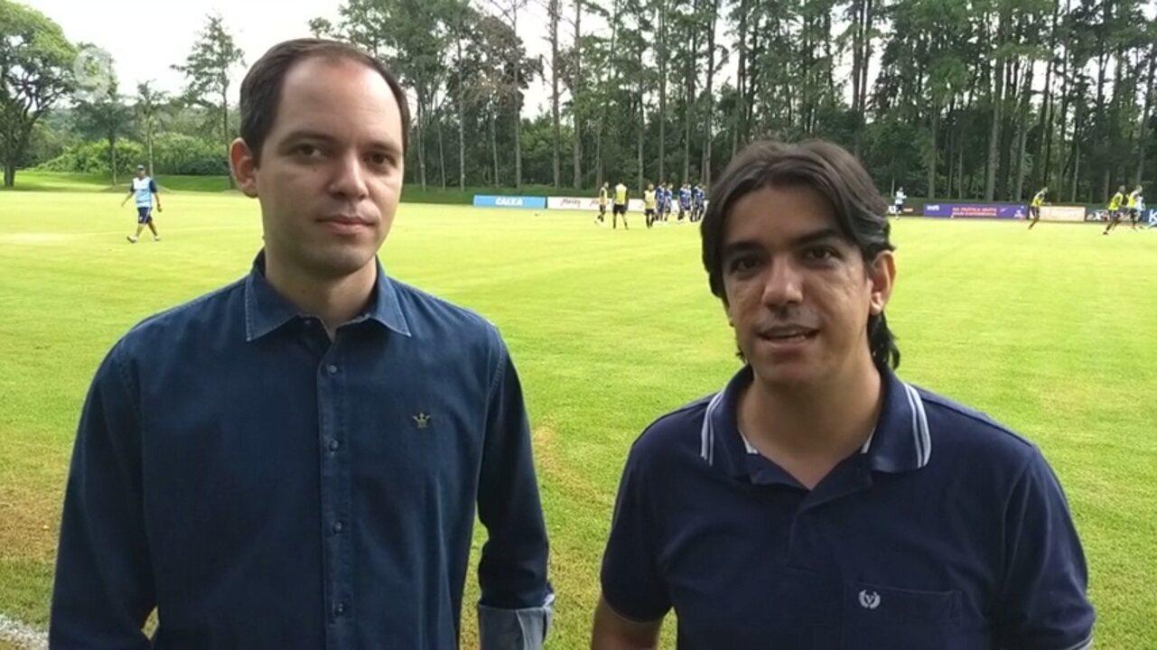 Por dentro do treino: Ricardinho não faz mistério no Londrina e fala sobre
