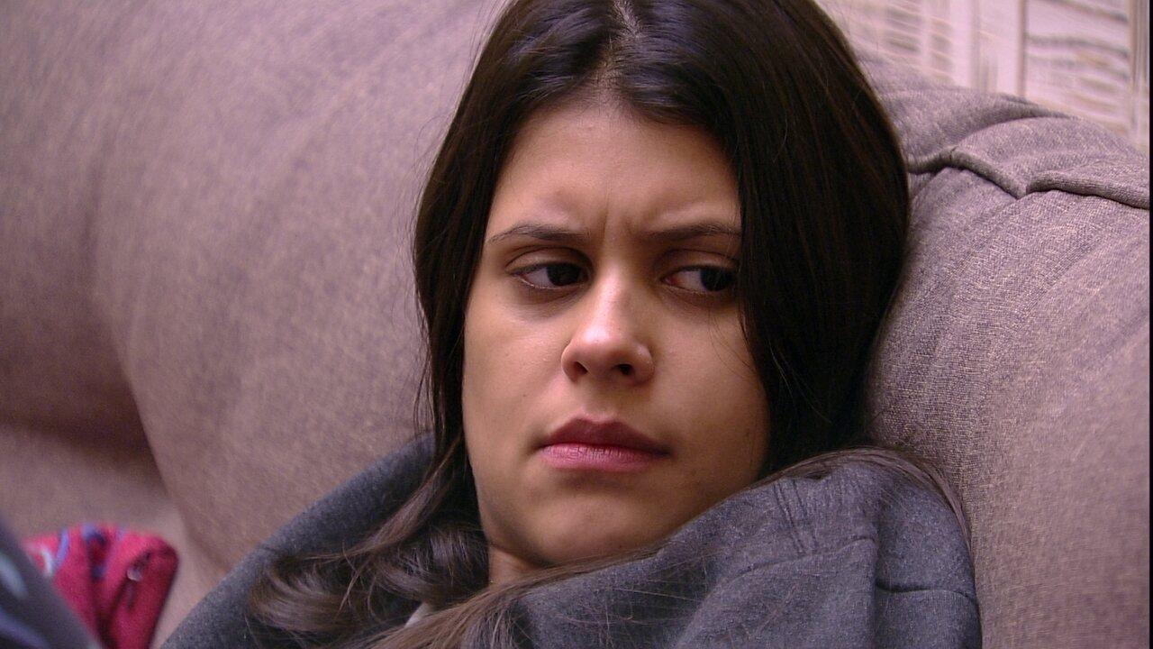 Ana Paula questiona brincadeira de Lucas com Patrícia: 'Por que ele fez isso?'