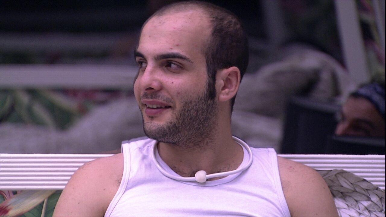 Mahmoud para Gleici: 'Se eu ganhar o Anjo, dou o Monstro pra você'