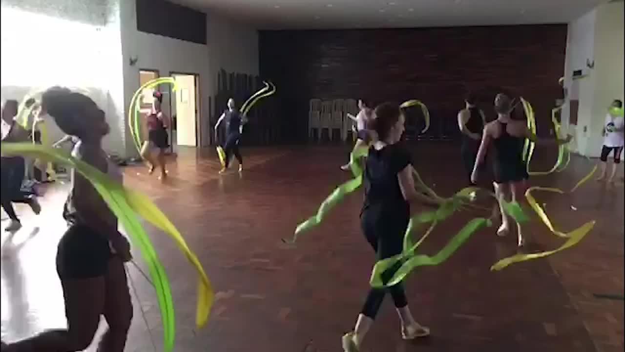Ex-atletas de ginástica do Rio de Janeiro participarão do desfile do Império Serrano