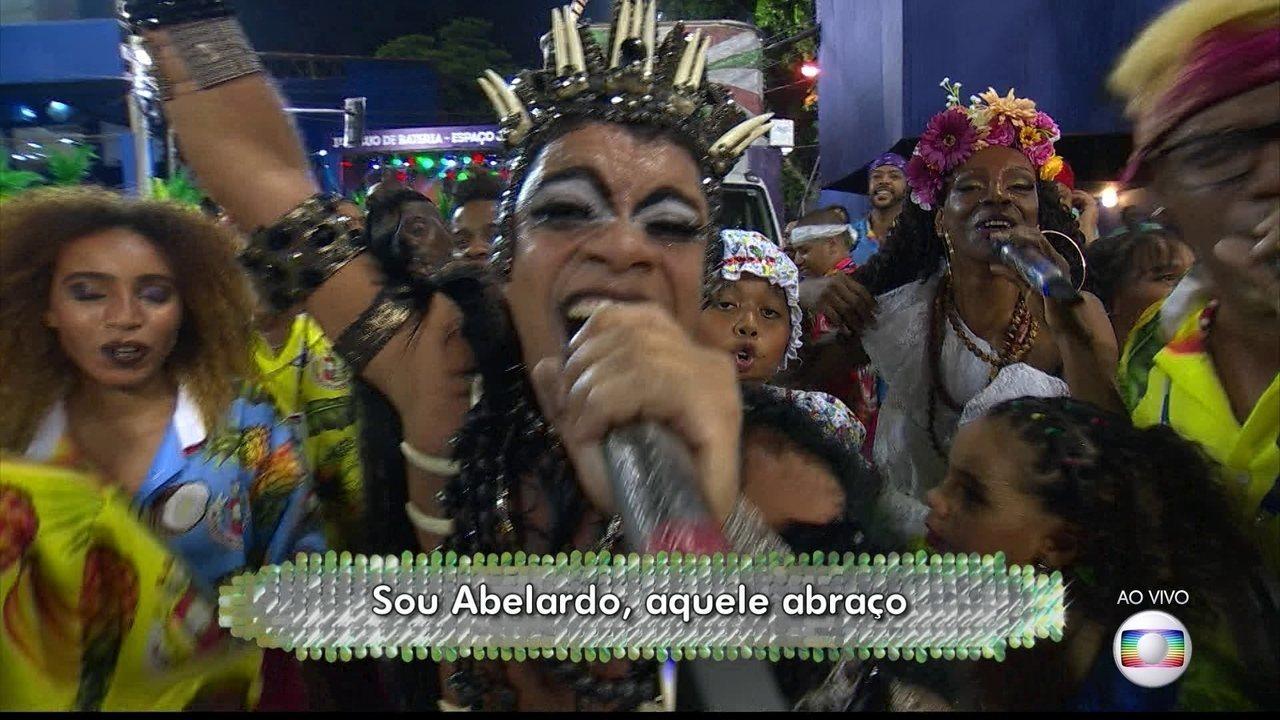 Chacrinha é o grande homenageado no samba enredo da Grande Rio