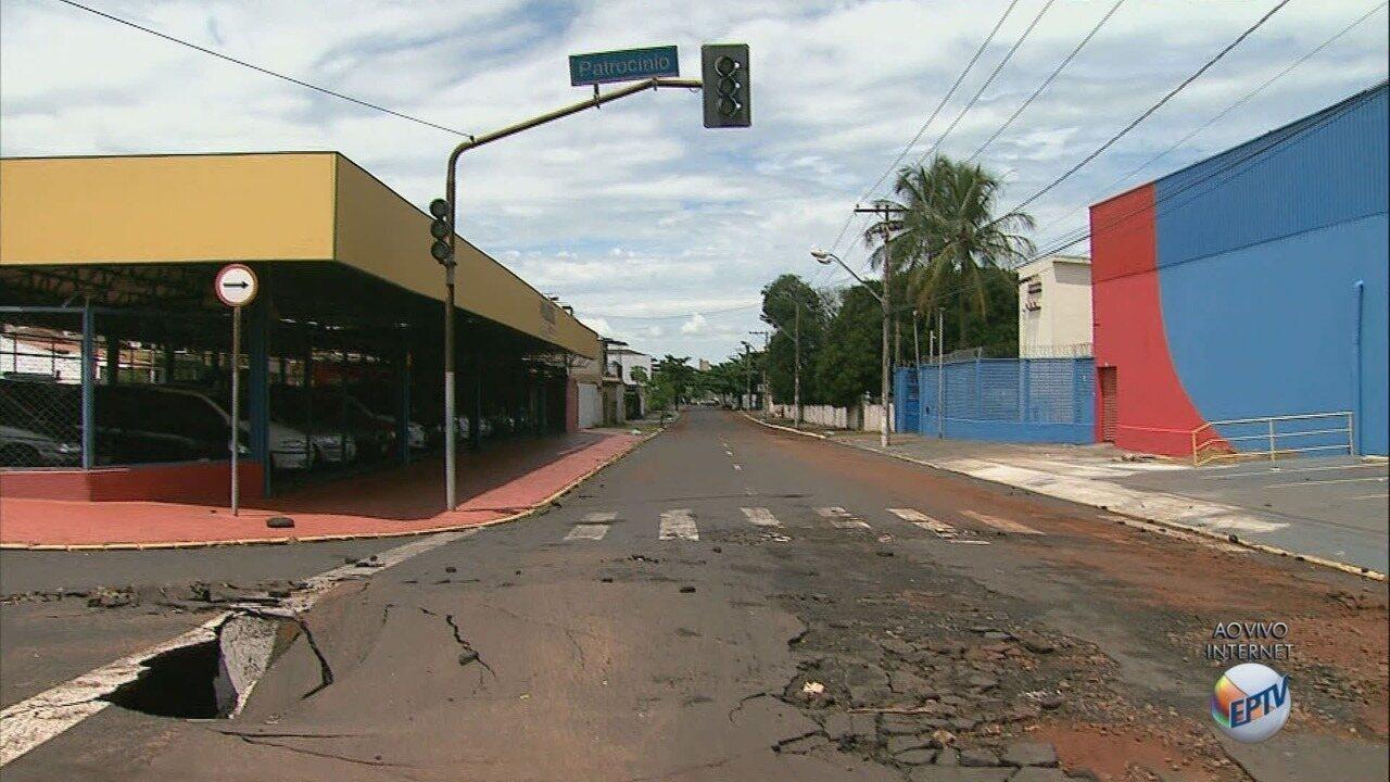 Temporal causa alagamentos e estragos em vias de Ribeirão Preto