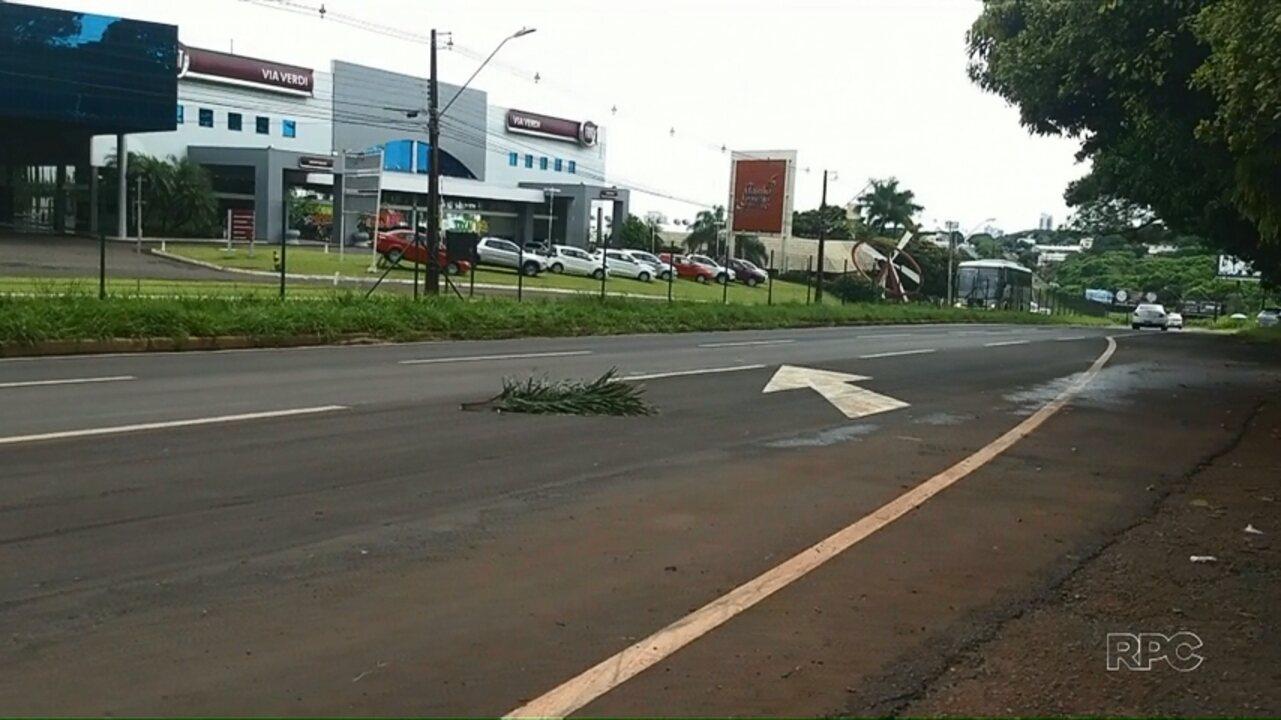 Mulher morre após ser atropelada na Avenida Colombo, em Maringá