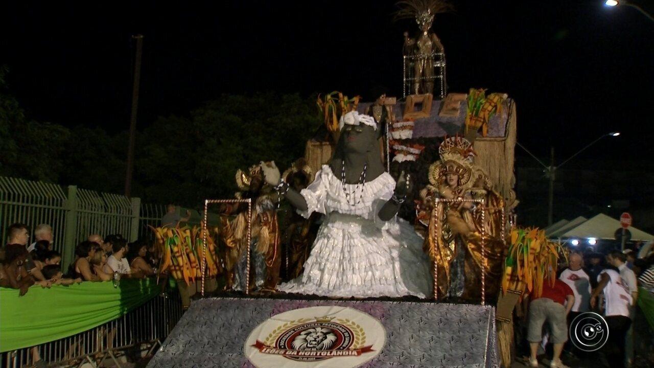 Leões da Vila Hortolândia é a campeã do carnaval 2018 em Jundiaí