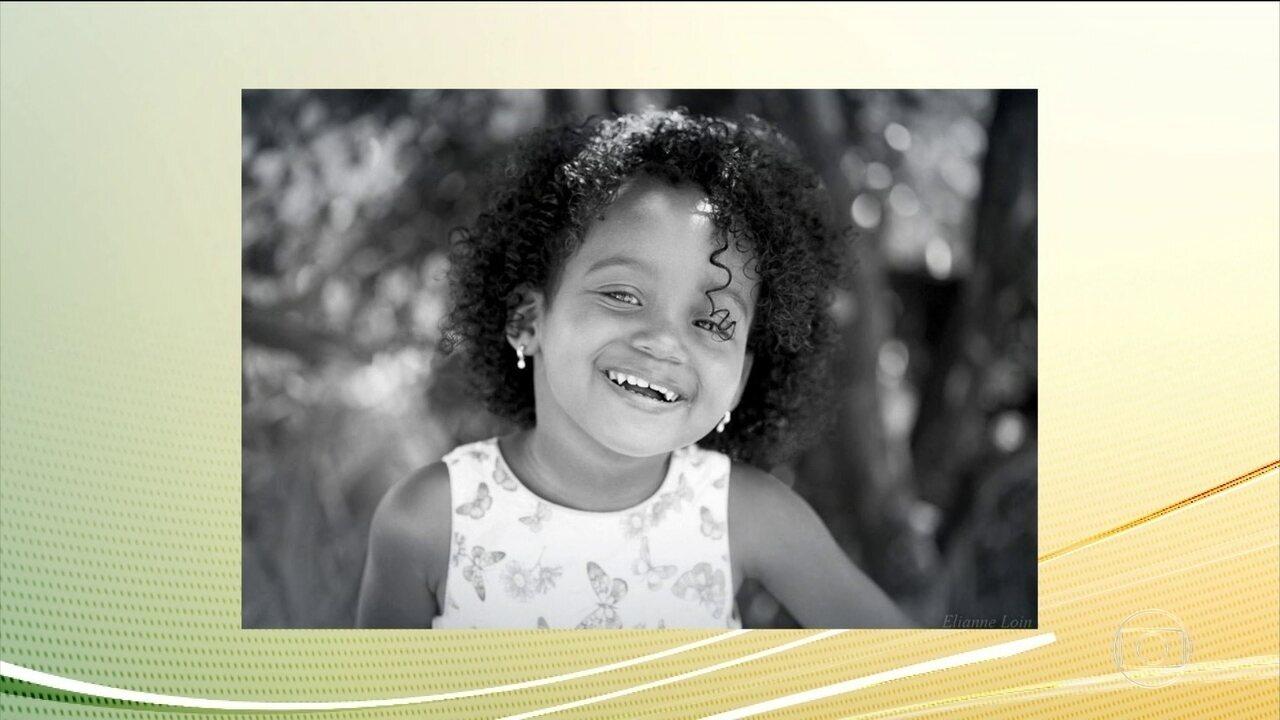 Menina de três anos baleada na cabeça no DF segue em coma induzido