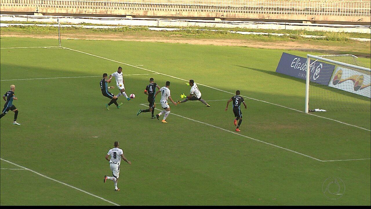 Em jogo movimentado de seis gols, Botafogo-PB e CSP empatam no Almeidão