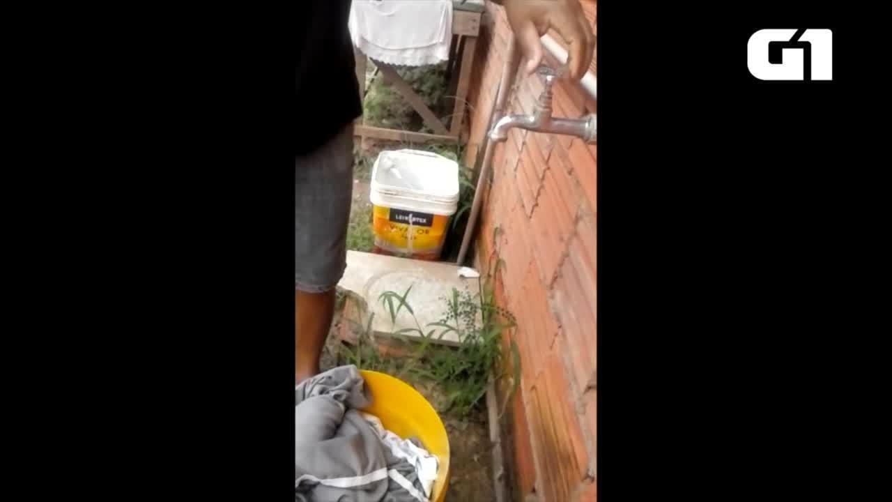 Moradores da região sul de Palmas estão sem água