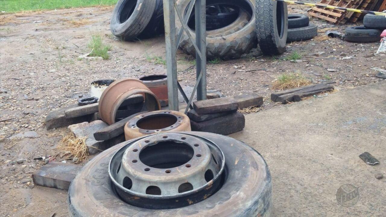 Homem de 26 anos morre após pneu estourar em borracharia de posto em Andradas (MG)