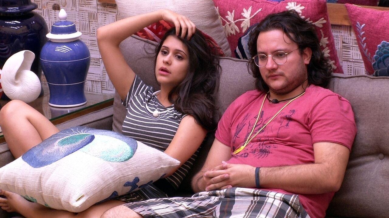 Diego afirma para Ana Paula: 'Há mais semelhanças entre você e Mahmoud do que imagina'