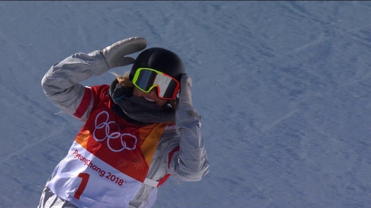 Com manobras espetaculares, Chloe Kim leva o ouro do Snowboard Halfpipe em PyeongChang