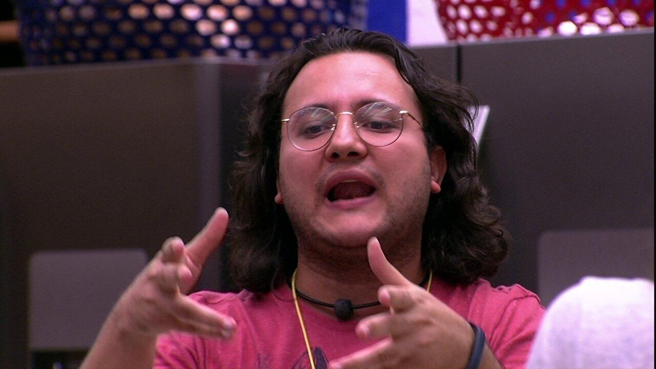 Diego defende Ana Paula: 'Como é leva e traz e persona non grata ao mesmo tempo?'