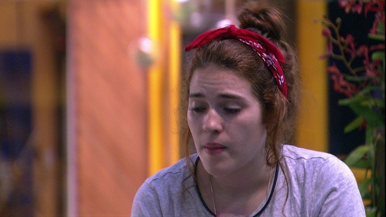 Ana Clara comenta estratégia de Diego: 'Visão muito deturpada do jogo'