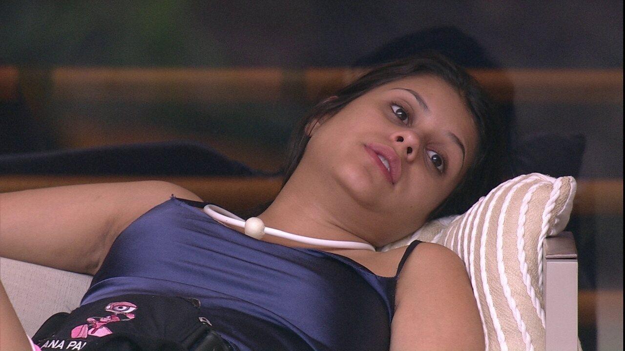 Ana Paula aponta para Diego: 'Tudo o que falo pega e distorce'