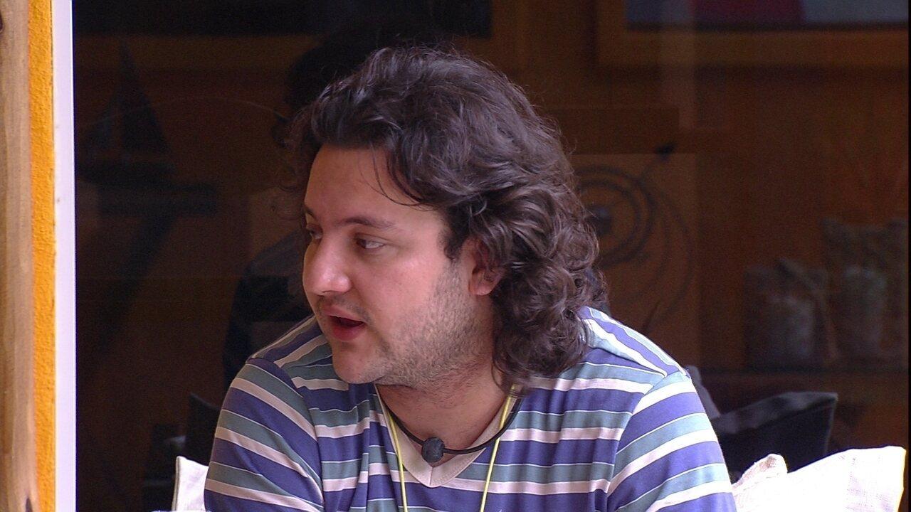 Diego alerta Ana Paula: 'Você entregou suas armas nos primeiros dias'