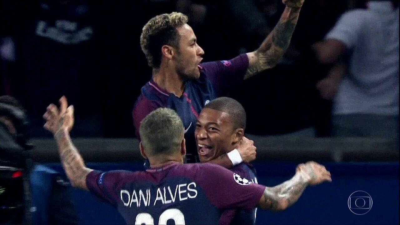 Oitavas-de-final da Liga dos Campeões terão confronto entre Neymar e Cristiano Ronaldo
