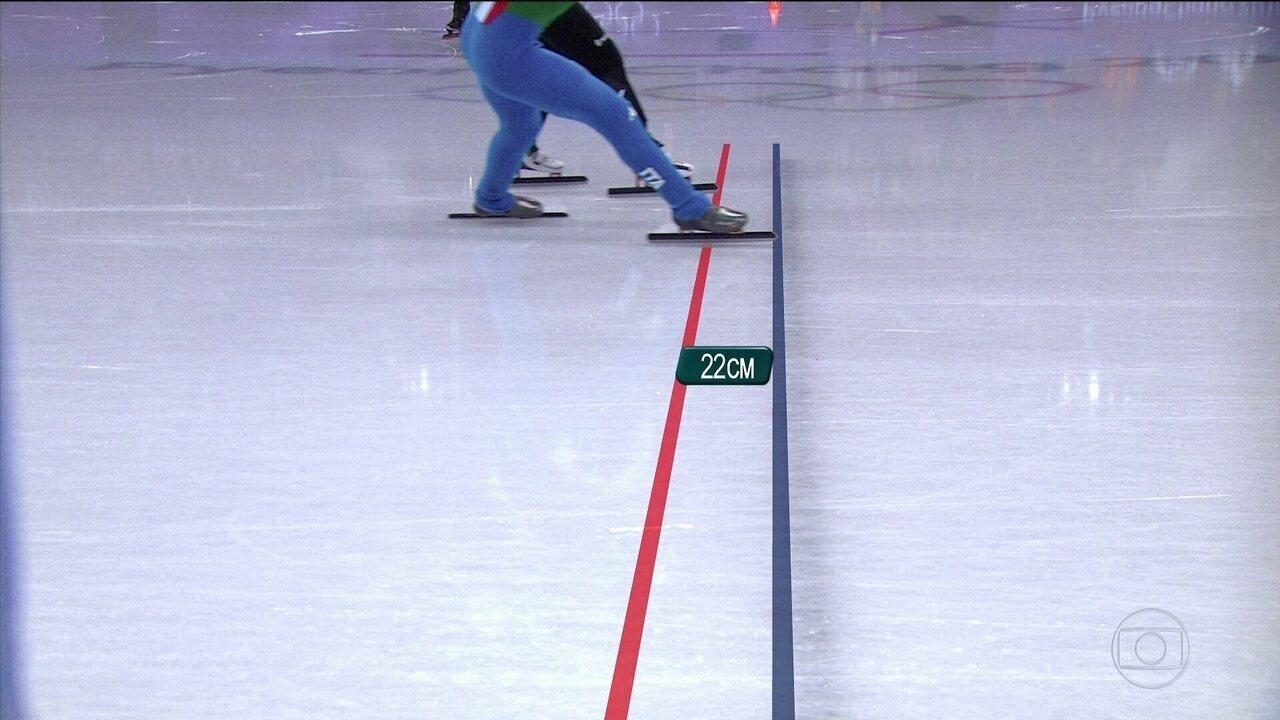Por 22cm, Ariana Fontana fica com ouro nos 500m patinação velocidade em pista curta