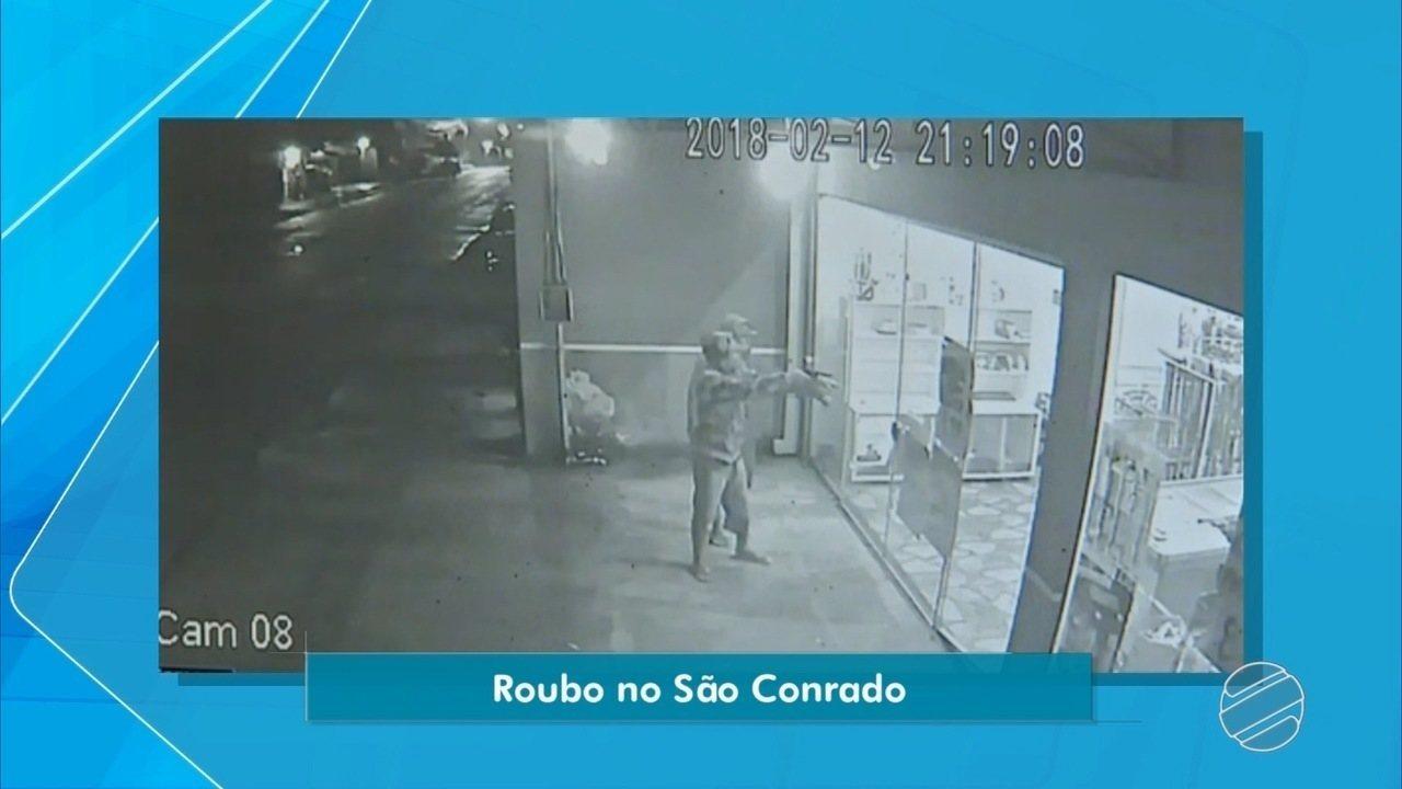 Mercado é assaltado em bairro de Campo Grande