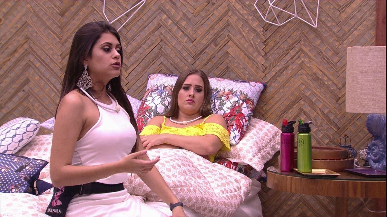 Trio critica Jéssica e Lucas: 'Jogo do fica-não fica'
