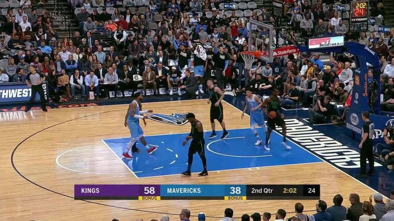 Melhores momentos: Sacramento Kings 114 x 109 Dallas Mavericks pela NBA