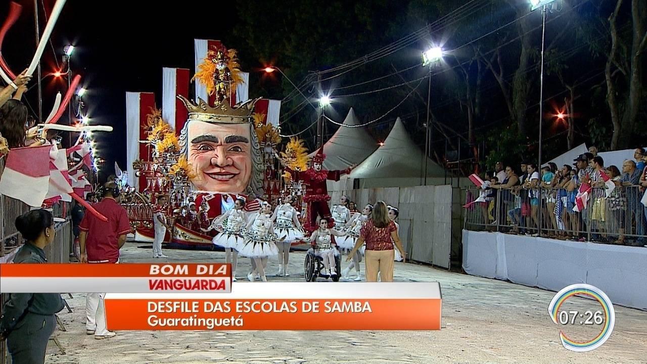 Diretor De Carnaval Deixa Tradicional Escola De Sp: Guaratinguetá Retoma Tradicional Desfile De Escolas De