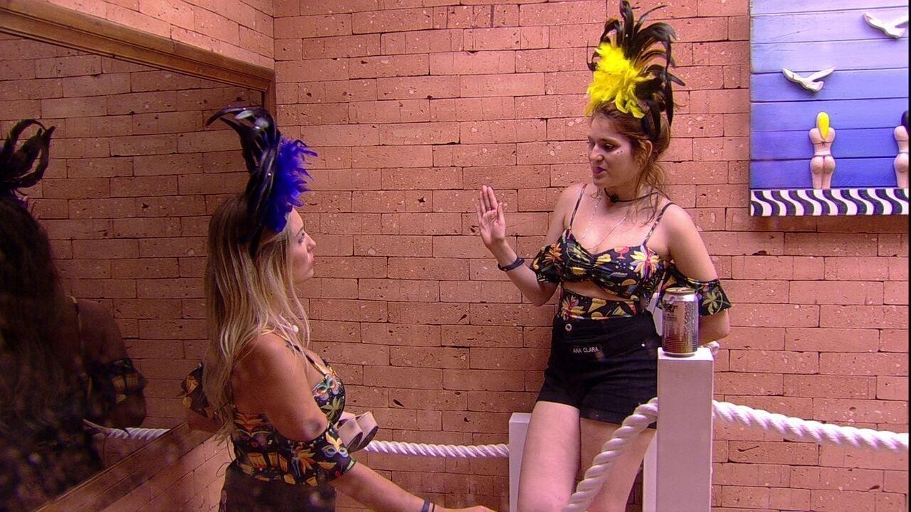 Jéssica comenta sua relação com Lucas: 'Mistura de amizade e carência'