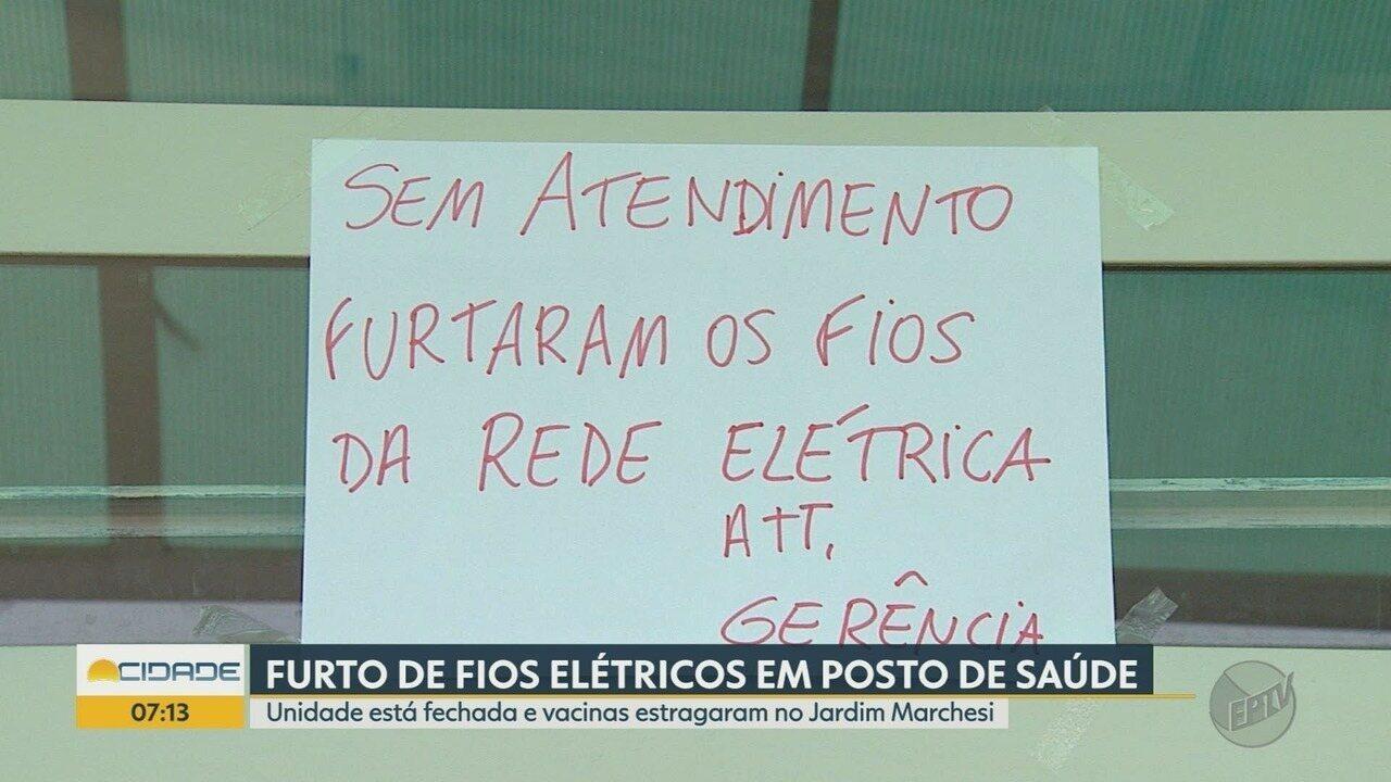 Furto de fiação elétrica afeta atendimento em unidade de saúde em Ribeirão Preto